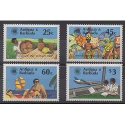 Antigua et Barbuda - 1983 - No 689/692