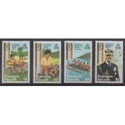 Solomon (Islands) - 1981 - Nb 435/438