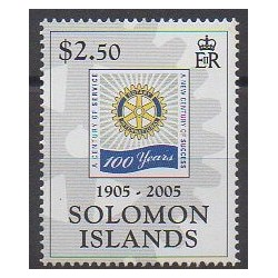 Solomon (Islands) - 2005 - Nb 1154 - Rotary or Lions club