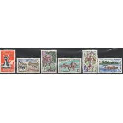 Polynésie - Année complète - 1967 - No 46/51