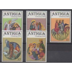 Antigua - 1976 - Nb 439/443 - Christmas