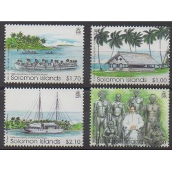 Salomon (Iles) - 2002 - No 992/995 - Religion