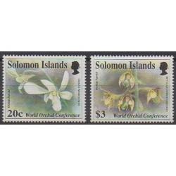 Salomon (Iles) - 1993 - No 786/787 - Orchidées
