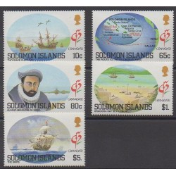 Salomon (Iles) - 1992 - No 739/743 - Navigation