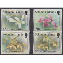 Salomon (Iles) - 1992 - No 782/785 - Orchidées