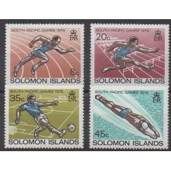 Solomon (Islands) - 1979 - Nb 371/374 - Various sports