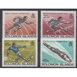 Salomon (Iles) - 1979 - No 371/374 - Sports divers