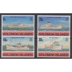 Salomon (Iles) - 1980 - No 402/405 - Navigation