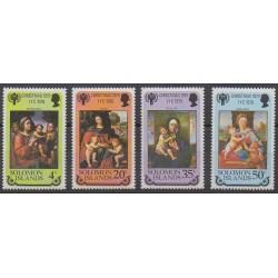 Solomon (Islands) - 1979 - Nb 394/397 - Christmas