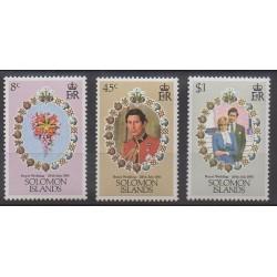 Solomon (Islands) - 1981 - Nb 432/434 - Royalty