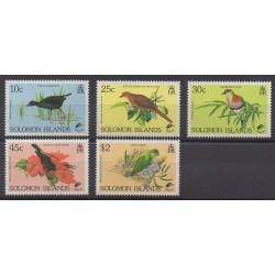 Solomon (Islands) - 1990 - Nb 706/710 - Birds
