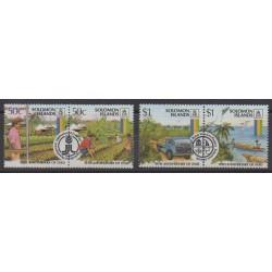 Solomon (Islands) - 1988 - Nb 642/645