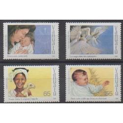 Vanuatu - 1988 - Nb 818/821 - Christmas