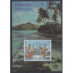 Polynesia - Blocks and sheets - 1983 - Nb BF8