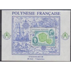 Polynesia - Blocks and sheets - 1986 - Nb BF12