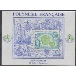 Polynésie - Blocs et feuillets - 1986 - No BF12