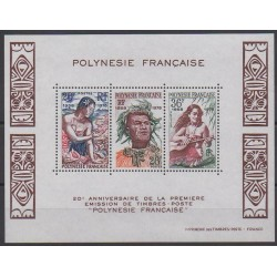 Polynesia - Blocks and sheets - 1978 - Nb BF4 - Philately