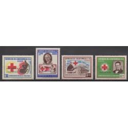 Guatemala - 1964 - No PA322/PA325 - Santé ou Croix-Rouge - Sports divers