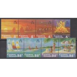 Caïmans (Iles) - 1984 - No 535/542 - Noël