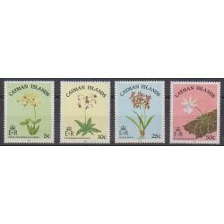 Caïmans (Iles) - 1985 - No 547/550 - Fleurs