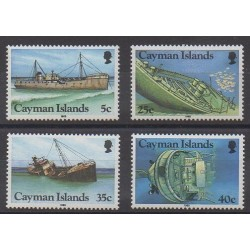 Cayman ( Islands) - 1985 - Nb 551/554 - Boats