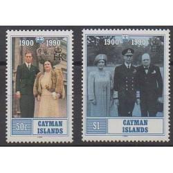 Caïmans (Iles) - 1990 - No 663/664 - Royauté - Principauté