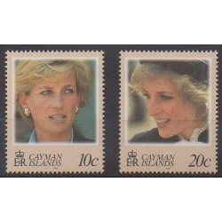 Cayman ( Islands) - 1998 - Nb 806/807 - Royalty