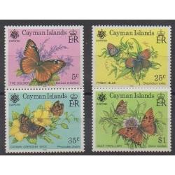 Caïmans (Iles) - 1990 - No 665/668 - Insectes - Exposition
