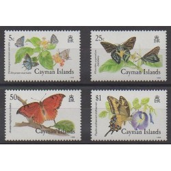 Cayman ( Islands) - 1988 - Nb 621/624 - Insects
