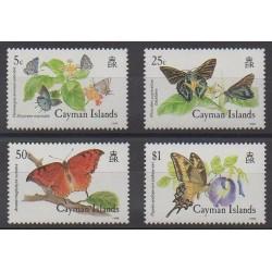 Caïmans (Iles) - 1988 - No 621/624 - Insectes