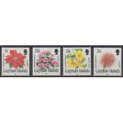 Cayman ( Islands) - 1987 - Nb 610/613 - Flowers