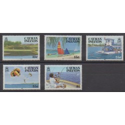 Caïmans (Iles) - 1987 - No 598/602 - Tourisme