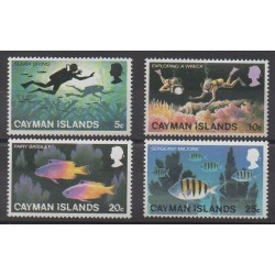 Caïmans (Iles) - 1977 - No 381/384 - Tourisme