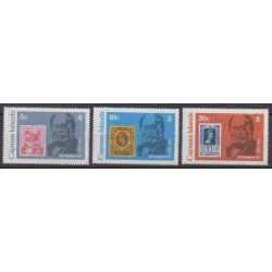 Caïmans (Iles) - 1979 - No 433/435 - Timbres sur timbres