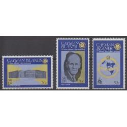 Caïmans (Iles) - 1980 - No 441/443 - Rotary ou Lions club