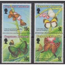 Caïmans (Iles) - 1994 - No 735/738 - Insectes