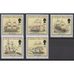 Cayman ( Islands) - 1994 - Nb 739/743 - Boats