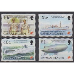 Cayman ( Islands) - 1995 - Nb 751/754 - Second World War