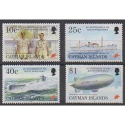 Caïmans (Iles) - 1995 - No 751/754 - Seconde Guerre Mondiale