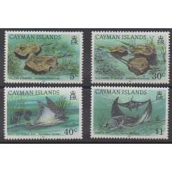 Cayman ( Islands) - 1993 - Nb 704/707 - Sea animals