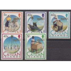 Caïmans (Iles) - 1992 - No 699/703 - Artisanat ou métiers