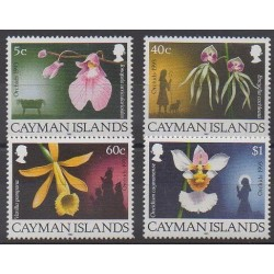 Cayman ( Islands) - 1993 - Nb 722/725 - Orchids