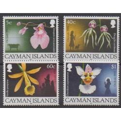 Caïmans (Iles) - 1993 - No 722/725 - Orchidées