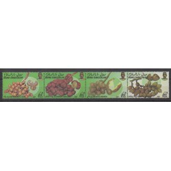 Brunei - 1989 - Nb 415A/415D - Fruits or vegetables