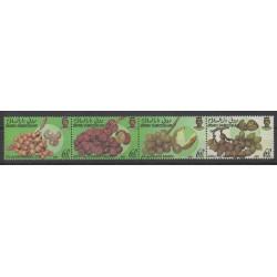 Brunei - 1989 - Nb 415A/415D - Fruits or vegetables