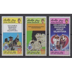 Brunei - 1991 - Nb 435/437