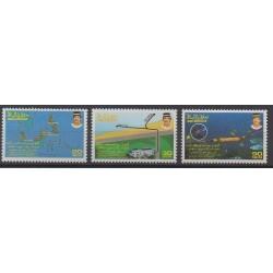 Brunei - 1992 - Nb 443/445 - Telecommunications