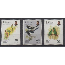 Brunei - 1993 - Nb 460/462 - Birds