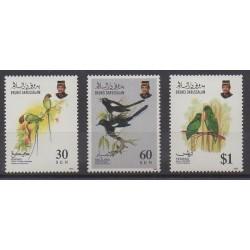 Brunei - 1993 - No 460/462 - Oiseaux
