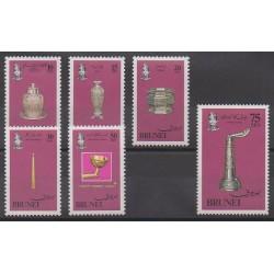 Brunei - 1982 - No 280/285 - Royauté - Principauté - Art